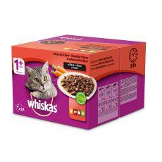 Whiskas pliculeț selecție clasică în sos 24 x 100g