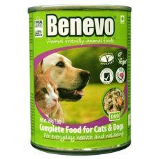 Hrană completă Benevo Duo pentru câini și pisici 369 g