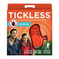 Repelent ultrasonic pentru oameni, împotriva căpușelor TICKLESS HUMAN – portocaliu