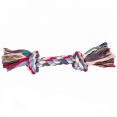 Jucărie câine- funie din bumbac cu nod - 40 cm