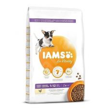 Iams Dog Puppy Small Medium Breed Pui 12 kg