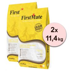 FirstMate Dog Free Chicken & Oats 2 x 11,4 kg