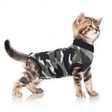 Îmbrăcăminte post-operatorie pentru pisici S camuflaj