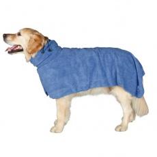 Halat elegant pentru câini - albastru - 50cm