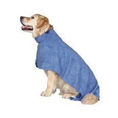 Halat elegant pentru câini - albastru - 40cm