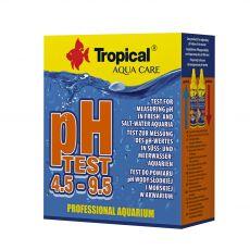 TROPICAL pH Test 4,5 - 9,5