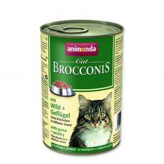 Animonda Cat BROCCONIS cu carne de vânat și pasăre 400 g