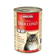 Animonda Cat BROCCONIS cu carne de vită și pasăre 400 g