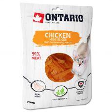 Ontario Cat Mini felii de pui 50 g