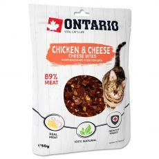 Ontario Cat Pui & brânză 50 g