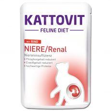 Kattovit Niere / Renal renală Pungă de vită 85 g