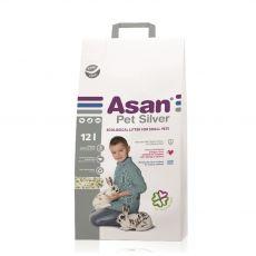 Asan Pet Silver Așternut pentru rozătoare și iepuri 12 L