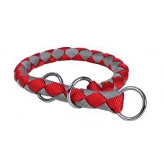 Zgardă de limitare pentru câini, roşu cu gri - L - XL, 52 - 60 cm
