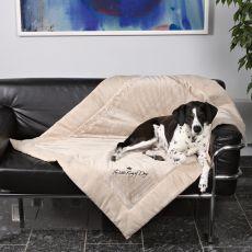 Pătură pentru câini King of Dogs - cu două fețe