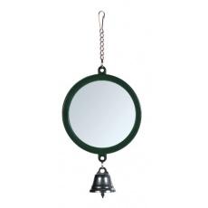 Oglindă cu clopoţel pentru păsări- 7 cm