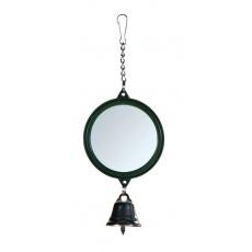 Oglindă cu clopoţel pentru păsări 5,5 cm