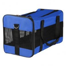 Geantă pentru transportarea pisicilor și a câinilor- albastru, 52 x 30 x 30 cm