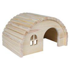 Căsuţă rozător cu acoperişul boltit - de mărime mică