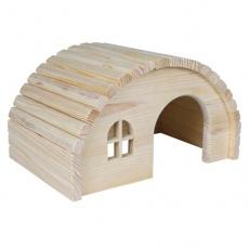 Căsuţă pentru rozătoare cu acoperişul boltit - de mărime mijlocie