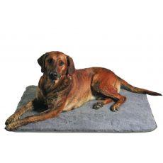 Covoraș gri pentru câini - 75 × 50 cm