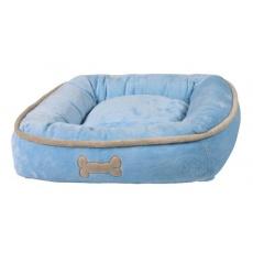 Pat câine, albastru - 50 × 50 cm