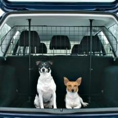 Grilaj de protecție pentru mașină, negru