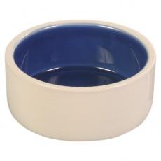 Bol ceramic de culoare crem pentru câini - 2.1l