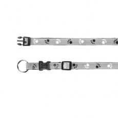 Zgardă reflectorizantă pentru câini - S -M, 30 - 45 cm