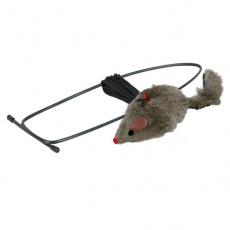 Jucărie pentru pisici - șoarece de pluş