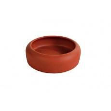 Castronaş de ceramică pentru hamster, cu margini rotunjite - 125 ml