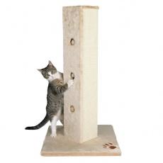 Sisal pentru pisici, cu formă de stâlp.