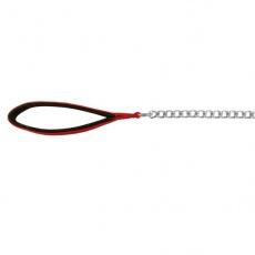 Lesă pentru câini - mâner roșu, 110cm/2mm
