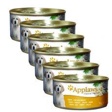 Conservă de pui Applaws Dog Puppy 6 x 95 g