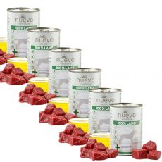Conservă NUEVO Dog Sensitive LAMB 6 x 400 g