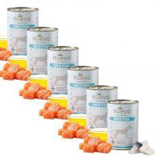 Conservă NUEVO Dog Sensitive FISH 6 x 375 g