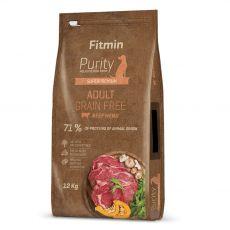 Fitmin Purity Adult Beef Grain Free 12 kg