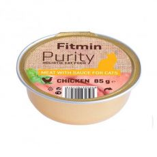 Fitmin Cat Purity Tavă de pui 85 g