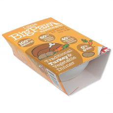 Little Big Paw Dog Tavă de curcan & legume 150 g