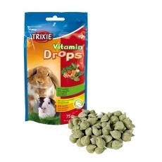 Desert pentru iepure - drops de legume, 75 g