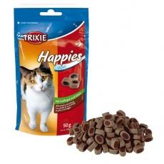 Bucățici de recompensă pentru pisici - cu pui și cașcaval, 50 g
