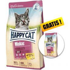 Happy Cat Minkas Sterilised 10 kg + CADOU