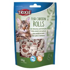 Desert pentru pisici - cu pui și cod, 50 g