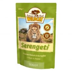 Wildcat Serengheti Senior Pliculeț 100 g