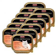 Animonda Vom Feinsten Castrated Cats - curcan + somon 12 x 100g