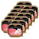 Pateu Animonda Vom Feinsten Adult Cats - cu inimă de curcan 12 x 100g