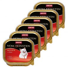 Animonda Vom Feinsten Kitten - vită 6 x 100 g