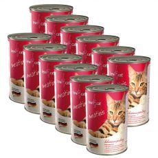 Conservă BEWI CAT Meatinis cu pui 12 x 400 g