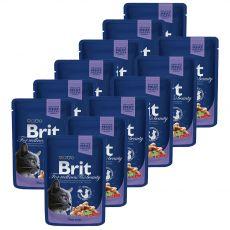 Pliculeț BRIT Premium Cat Cod Fish 12 x 100 g