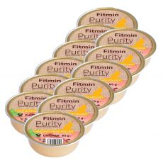 Fitmin Cat Purity Tavă de pui 12 x 85 g