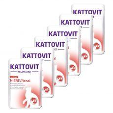 Kattovit Niere / Renal renală Pungă de vită 6 x 85 g